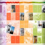 Aperçu d'un des tapis de jeux et ses cartes repères du coffret pédagogique Repères d'Histoire publié par Accès Éditions.