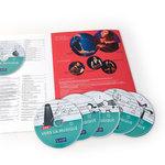 Aperçu du Complément CD Vers la Musique entrouvert et de ses CD présentés en éventail.