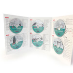 Présentation du Complément CD Vers la Musique ouvert et de ses six CD.