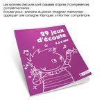 Mise en situation du livre pédagogique 29 Jeux d'Écoute 4 à 6 ans publié par ACCÈS Éditions et présentation de son contenu.