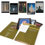 Présentation de l'intérieur de la pochette de l'outil pédagogique Histoires d'arts répertoire d'œuvres d'ACCÈS Éditions.