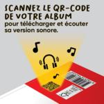 Version sonore des livres de la collection Mes premiers Albums dès 2 ans d'ACCÈS Jeunesse accessible avec le QR code situé au dos des albums.