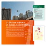 Aperçu de quelques pages de l'ouvrage pédagogique Géographie à vivre CM2 publié par ACCÈS Éditions.