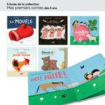 Aperçu des livres de la collection mes premiers contes inclus dans le lot ACCÈS Jeunesse TPS-PS 20 livres.