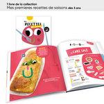 Aperçu des livres de la collection mes premières recettes inclus dans le lot ACCÈS Jeunesse TPS-PS 20 livres.