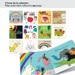 Aperçu des livres de la collection mes premiers albums inclus dans le lot ACCÈS Jeunesse TPS-PS 20 livres.