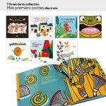 Aperçu des livres de la collection mes premiers contes inclus dans le lot ACCÈS Jeunesse MS 24 livres.