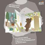 Aperçu de l'intérieur du livre jeunesse La petite galette ronde de la collection Mes Premiers Contes dès 4 ans d'ACCÈS Jeunesse.