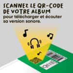 Explications pour l'accès à la version sonore de Ça pousse !, livre jeunesse de la collection Mes premiers albums dès 4 ans d'ACCÈS Jeunesse.