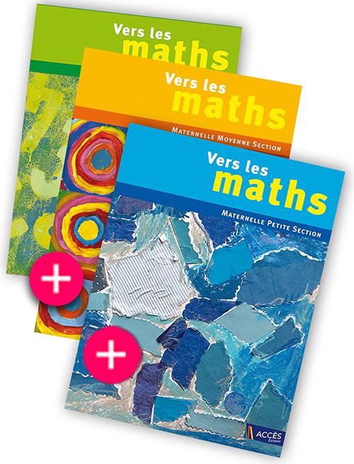 Très ACCÈS Éditions : Pack Vers les maths - Construire les premiers  CC41