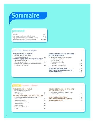 Fabuleux ACCÈS Éditions : Vers les maths - Construire les premiers outils  NO63