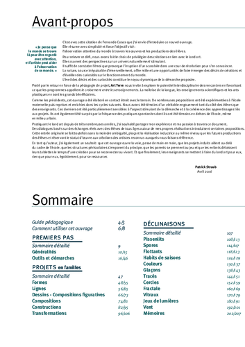 Art terre sommaire acces editions